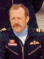 Photo of Robert Robichaud– Capt. Robert Robichaud in the summer of 1977