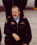 Group Photo– Group picture of the 1977 Warlocks with Capt Robert Robichaud, bottom right