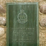 Memorial– The Memorial Cairn, erected in Petersville, New Brunswick, Canada, which marks the site of the 2 May 1971 crash of Lieutenant Ronald Edward EHRNE's otter aircraft.  (Photograph submitted with the kind permission of Bob Eley)