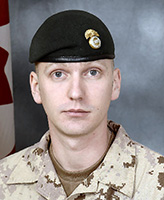 Photo of Christopher P. Stannix– Corporal Christopher P. Stannix, of the Princess Louise Fusiliers was killed when his light armoured vehicle struck an improvised explosive device near the border between Helmand and Kandahar provinces.  Photo: Canadian Forces Image Gallery