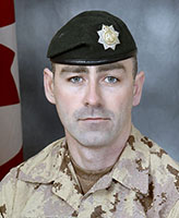 Photo of Donald Lucas– Sergeant Donald Lucas, of the 2nd Battalion, the Royal Canadian Regiment was killed when his light armoured vehicle struck an improvised explosive device near the border between Helmand and Kandahar provinces. Photo: Canadian Forces Image Gallery