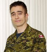 Photo of Benoit Chevalier– Cpl. Benoit Chevalier, Canadian peacekeeper from Three Wing Bagotville in Quebec, was among nine foreign peacekeepers killed Sunday May 6, 2007 when the plane they were travelling in crashed in a remote, rugged corner of Egypt's Sinai Peninsula. Photo: Canadian Forces Image Gallery.