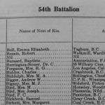 Roll of Honour– Thomas and Henry Brierley 54th Battalion