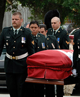 Funeral– Funeral Service for Cpl Jordan Anderson 14 July 2007 Our Lady of Mount Carmel Parish Ottawa Ontario