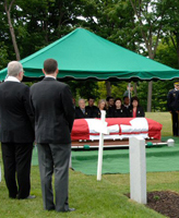 Internment service– Internment Service for Cpl Jordan Anderson 14 July 2007 National Military Cemetery Ottawa Ontario