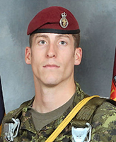 Photo of Matthew Dawe– Captain Matthew Johnathan Dawe, 3rd Battalion, Princess Patricia's Canadian Light Infantry was killed on 4 July, 2007 along with 5 other CF members and one Afghan interpreter, when the vehicle they were traveling in struck an improvised explosive device, approximately 20km south-west of Kandahar City. 3 PPCLI is based out of Edmonton, Alberta.  Photo: Canadian Forces Image Gallery