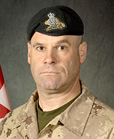 Photo of Mario Joseph Christian Michel Mercier– MWO Mario Mercier, was killed on 22 August, 2007 after the vehicle he was traveling in, a LAV III, struck a suspected mine. The incident occurred at 6:19 am Kandahar time, approximately 50 km West of Kandahar City during Operation EAGLE EYE, a joint Afghan National Security Force (ANSF) and ISAF operation aimed at further stabilizing the District of Zharey. MWO Mercier was a member of 2e Bataillon, Royal 22e Régiment, based in Valcartier, Québec.  Photo credit : Cplc Martine Morin, Section d'imagerie Garnison Valcartier.