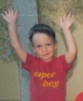 Photo of James Arnal– James at age 2 embracing the world at an early age!