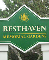 Resthaven Memorial Gardens– Scarborough, Ontario.