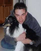 Photo of Thomas James Hamilton– Taken in the winter of 2004
