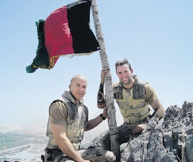 Photo of Thomas James Hamilton– Thomas J Hamilton in Afganistan
