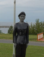Memorial– After my summer vacation in the Gaspésie in 2013, I stopped at Les Méchins to pay my respects to Cpl Blais. She was on the same rotation as my son. I was stunned by what the municipality of Les Méchins had done to honour Cpl. Blais. This memorial is located along Route 132 and is illuminated at night. You can't ask for more from a small municipality. Thank you Les Méchins for what you have done. Richard Arial (adj ret)
