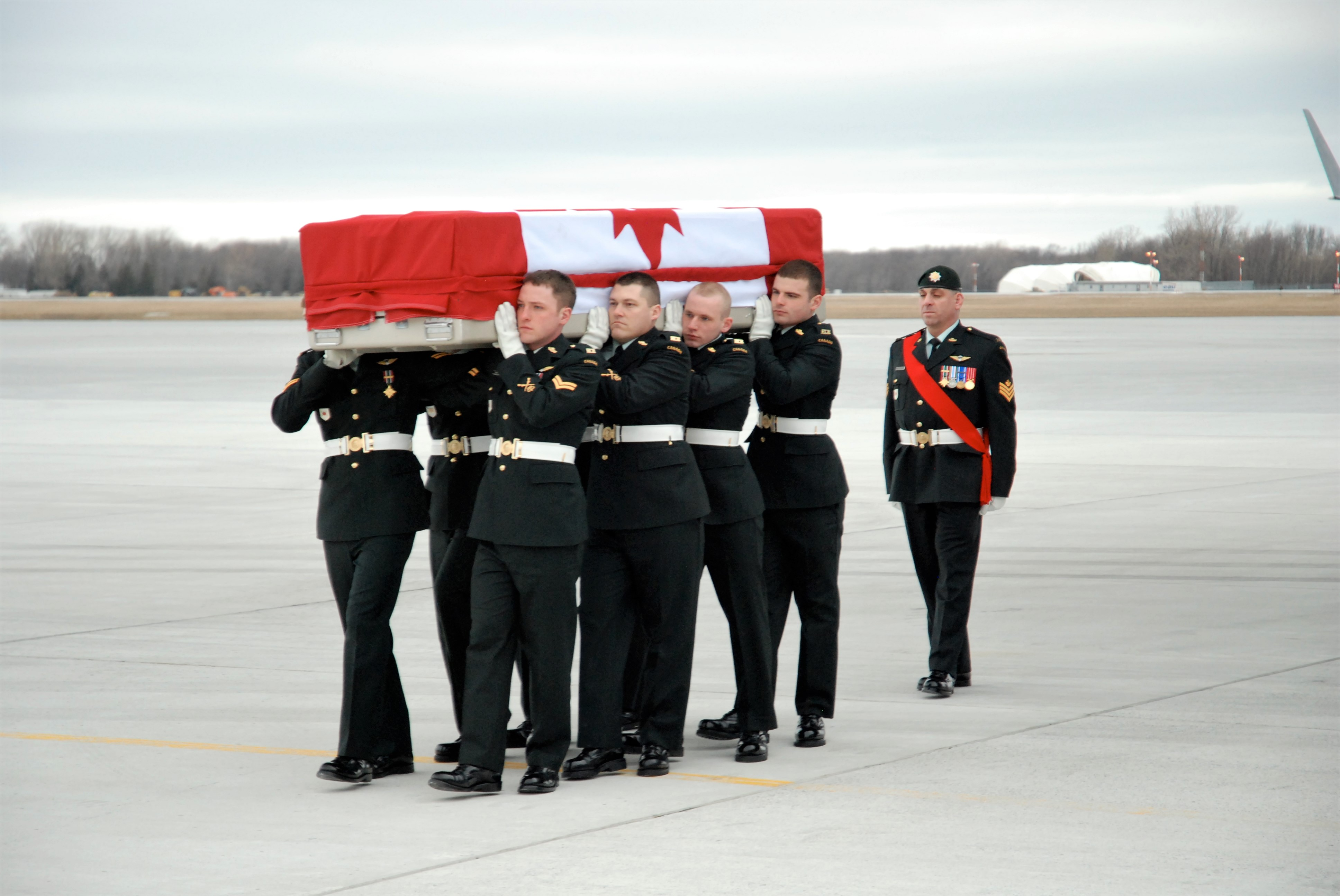 Funeral– A Mother's Worst Nightmare - Watching My Only Child Coming Off A Military Aircraft In A Flag Draped Coffin In Trenton. I Love And Miss You, Joshua. Love, Mom