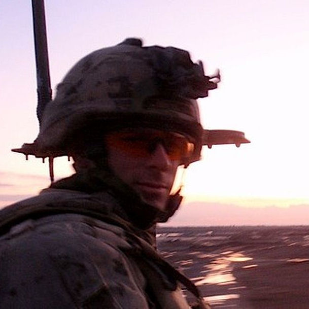 Photo of Joshua Caleb Baker– This Picture Was Taken Of Joshua In Afghanistan On Duty. It Was One Of His Favourites - Love, Mom
