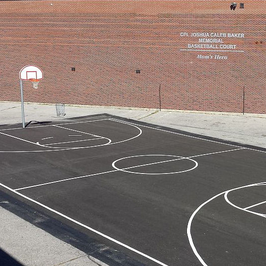 Memorial– The Full View Of Joshua's Brand New Basketball Court Done In Honour Of Him - Love, Mom