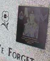 Memorial– Sgt Craig Gillam & Cpl Brian Pinksen memorial, Glynmill Pond, Corner Brook, Newfoundland