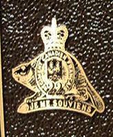 Plaque – Steve Martin plaque Royal 22e Regiment