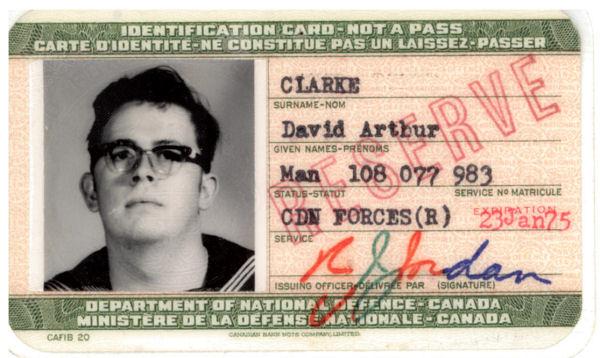 Private David Arthur Clarke