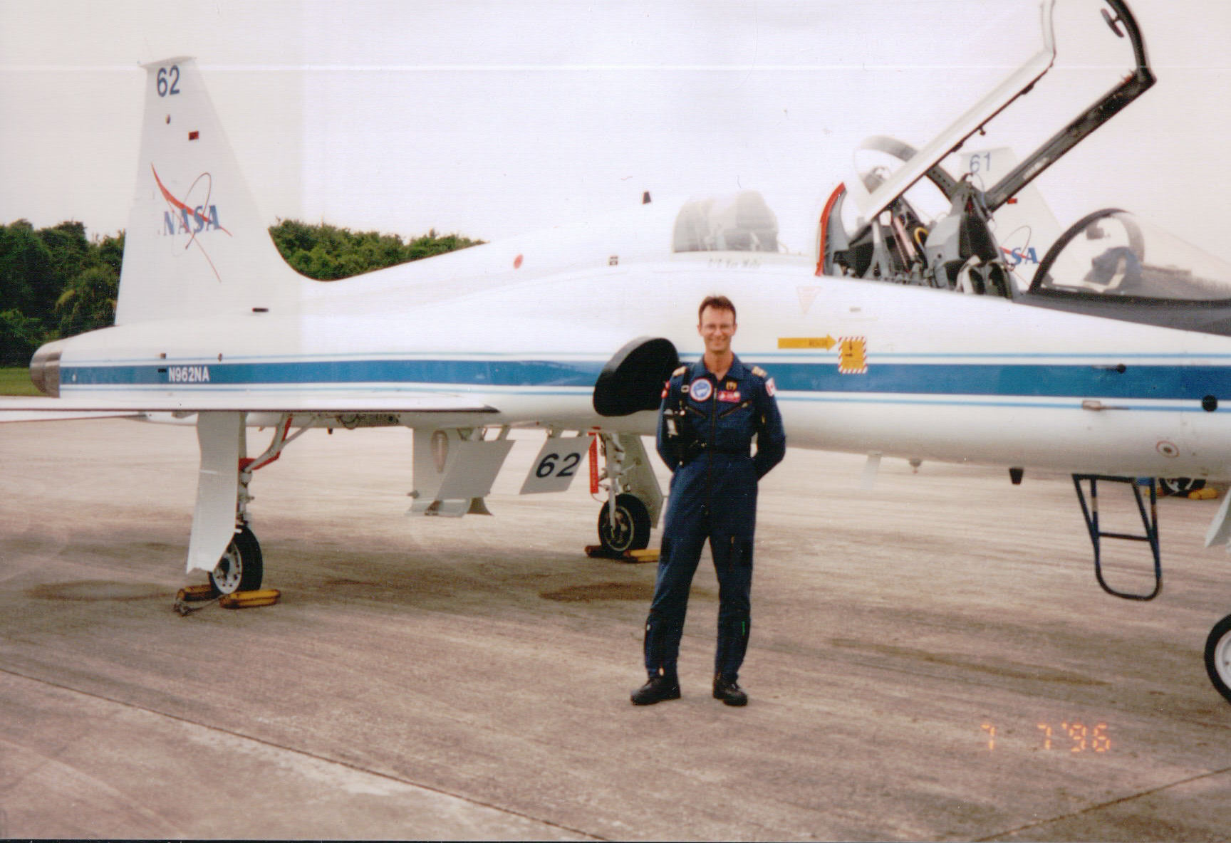 Photo of Carl Walker– Carl Walker DOD Medical Support Operations Space Shuttle NASA 