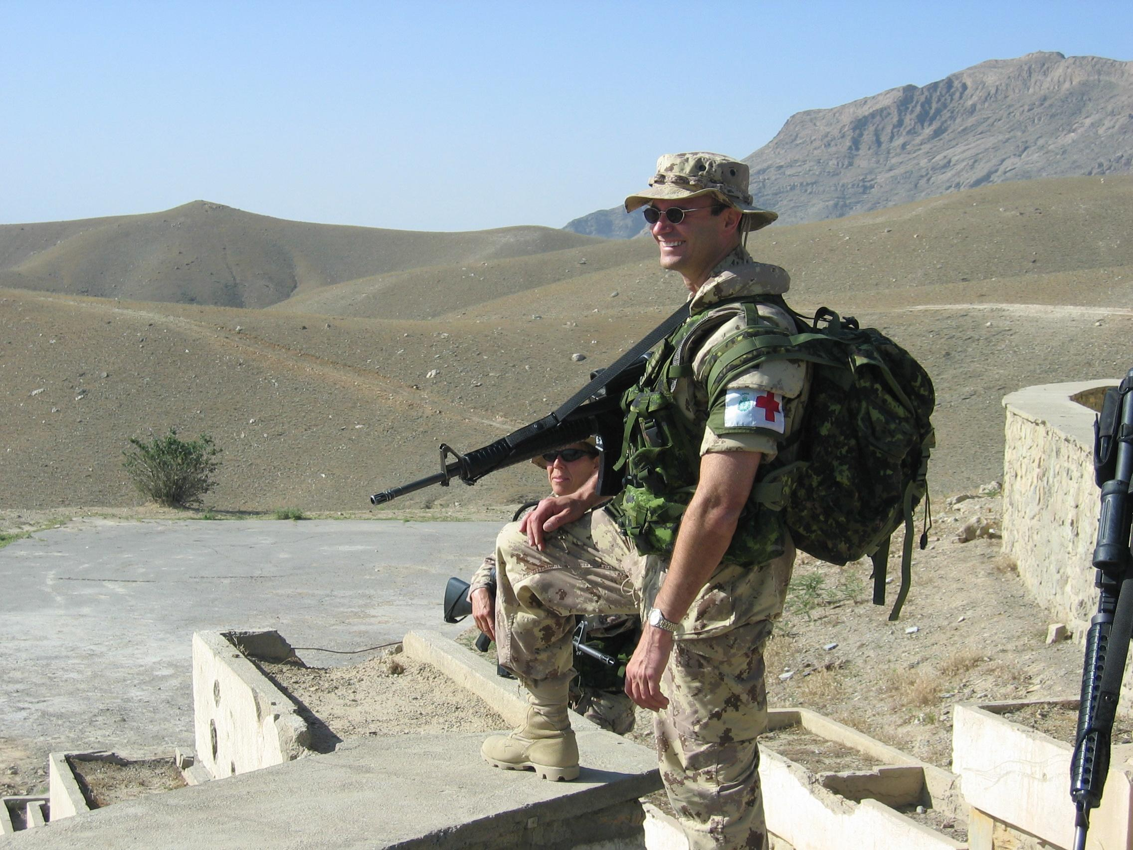 Photo of Carl Walker– Afghanistan 2004