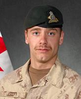 Photo of Yannick Scherrer– Corporal Yannick Scherrer