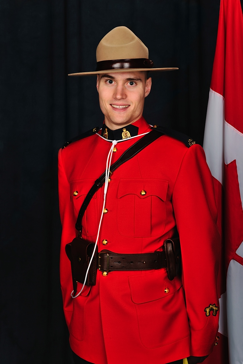 Constable Adrian Johann Oliver– © Her Majesty the Queen in Right of Canada as represented by the Royal Canadian Mounted Police
