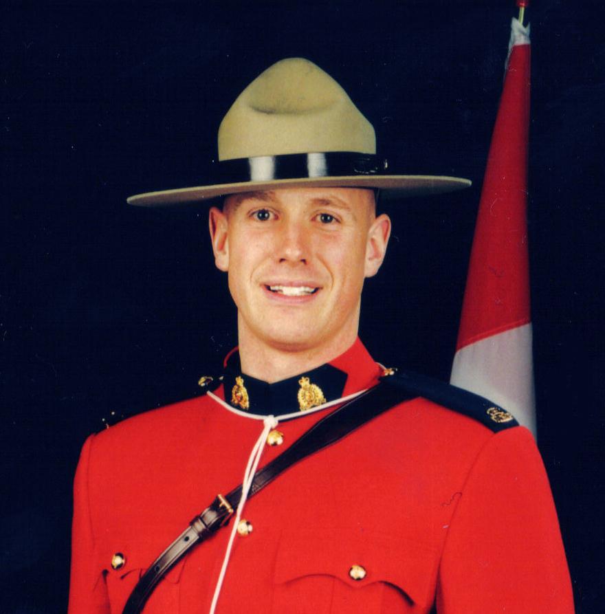 Gendarme Christopher John Worden – © Sa Majesté la Reine du chef du Canada représentée par la Gendarmerie royale du Canada