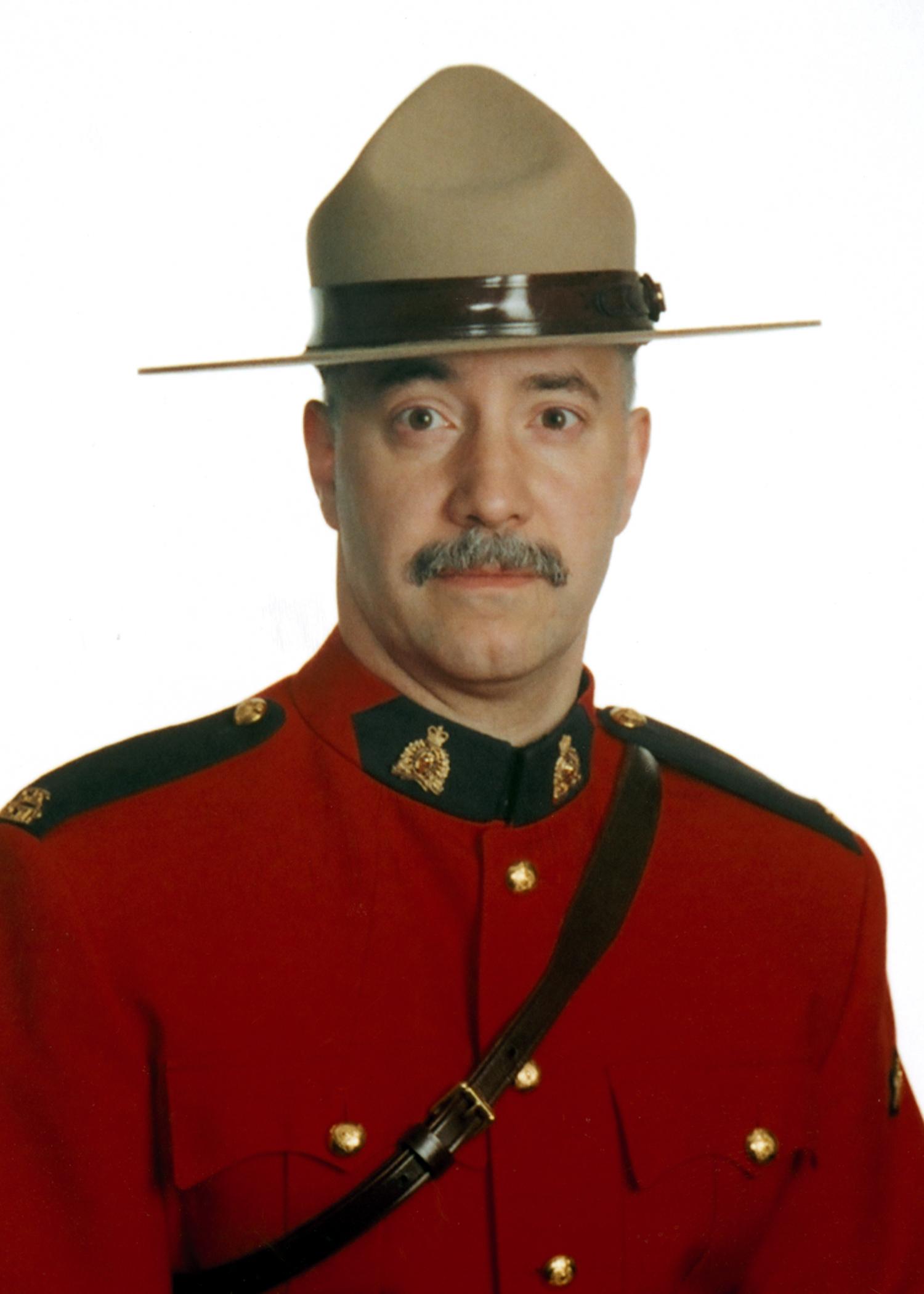 Gendarme José Manuel Agostinho – © Sa Majesté la Reine du chef du Canada représentée par la Gendarmerie royale du Canada