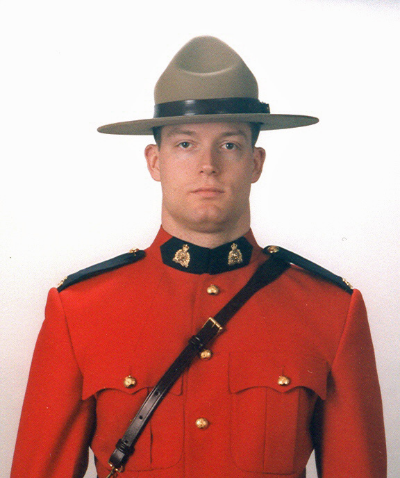 Constable Brock Warren Myrol– © Her Majesty the Queen in Right of Canada as represented by the Royal Canadian Mounted Police