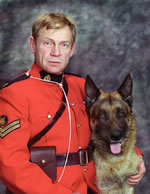 Corporal James Wilbert Gregson Galloway– © Her Majesty the Queen in Right of Canada as represented by the Royal Canadian Mounted Police