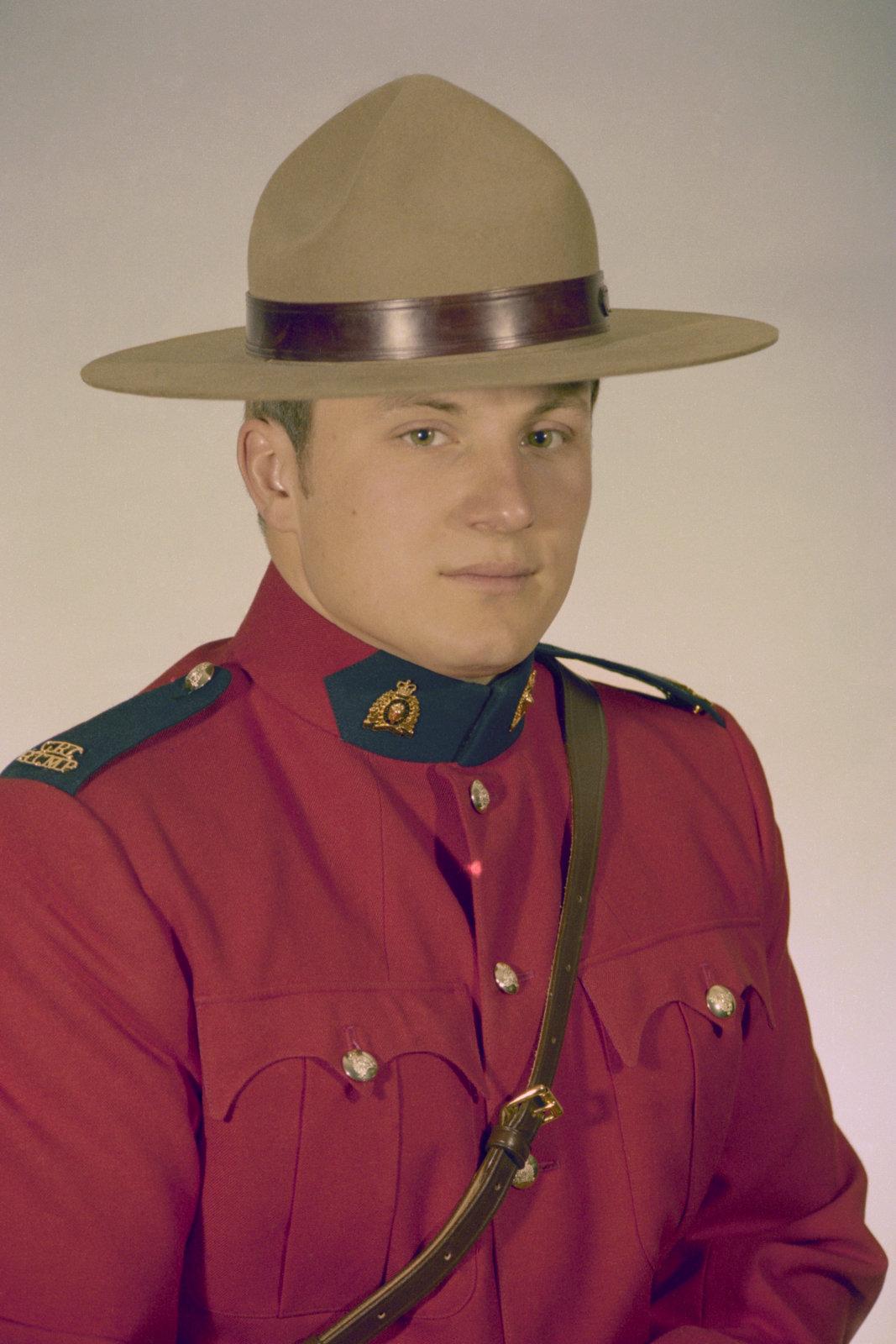 Gendarme Michael Joseph Buday – © Sa Majesté la Reine du chef du Canada représentée par la Gendarmerie royale du Canada