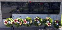 Plaque mémoriale de la GRC
