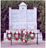 RCMP Cenotaph– Thomas James Agar