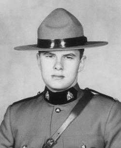 Gendarme Gordon Alfred Brooks – © Sa Majesté la Reine du chef du Canada représentée par la Gendarmerie royale du Canada