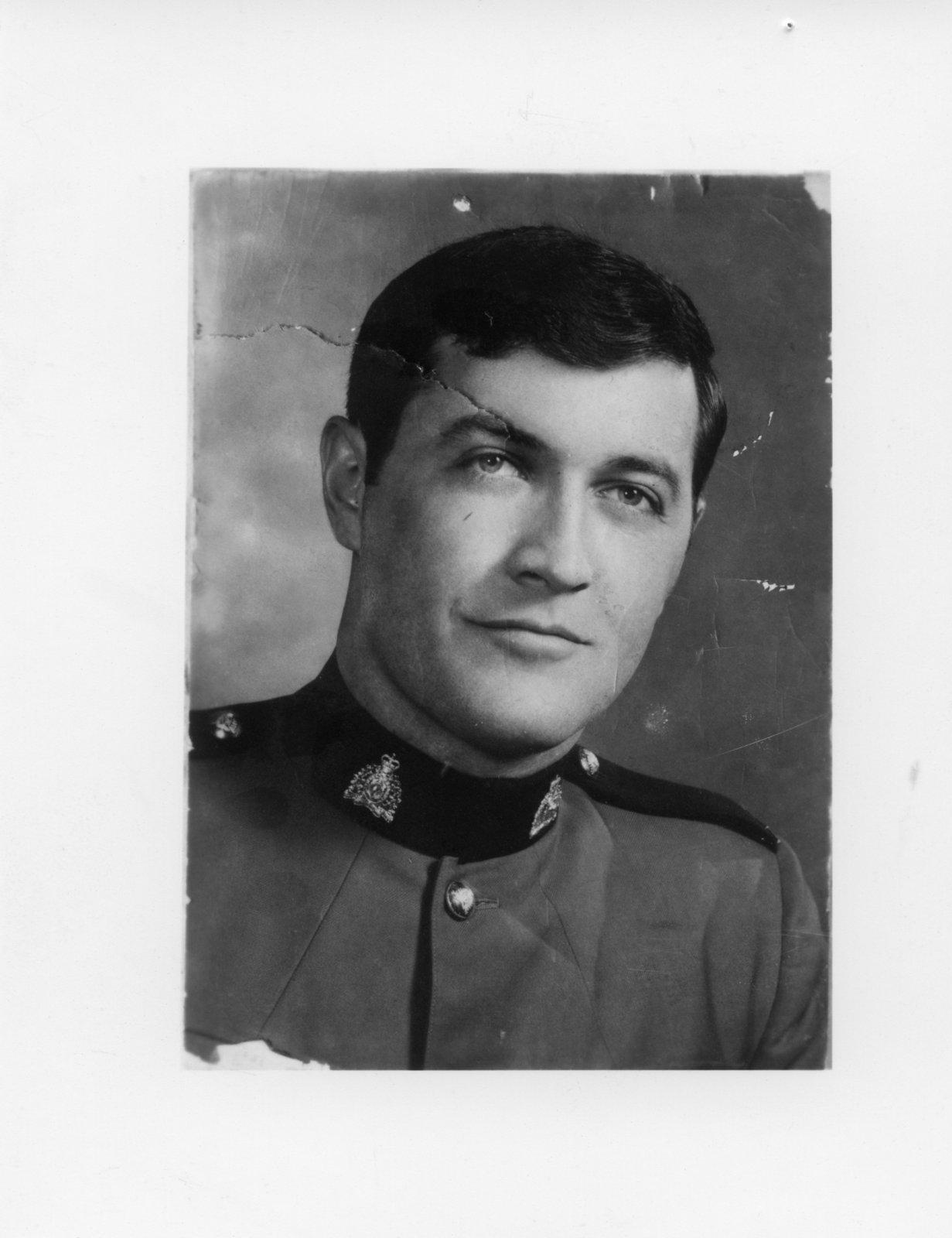 Corporal Barry Warren Lidstone