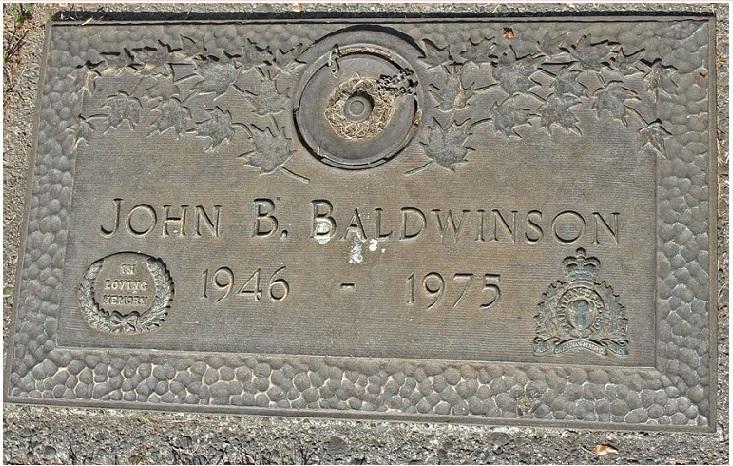Inscription on Grave marker