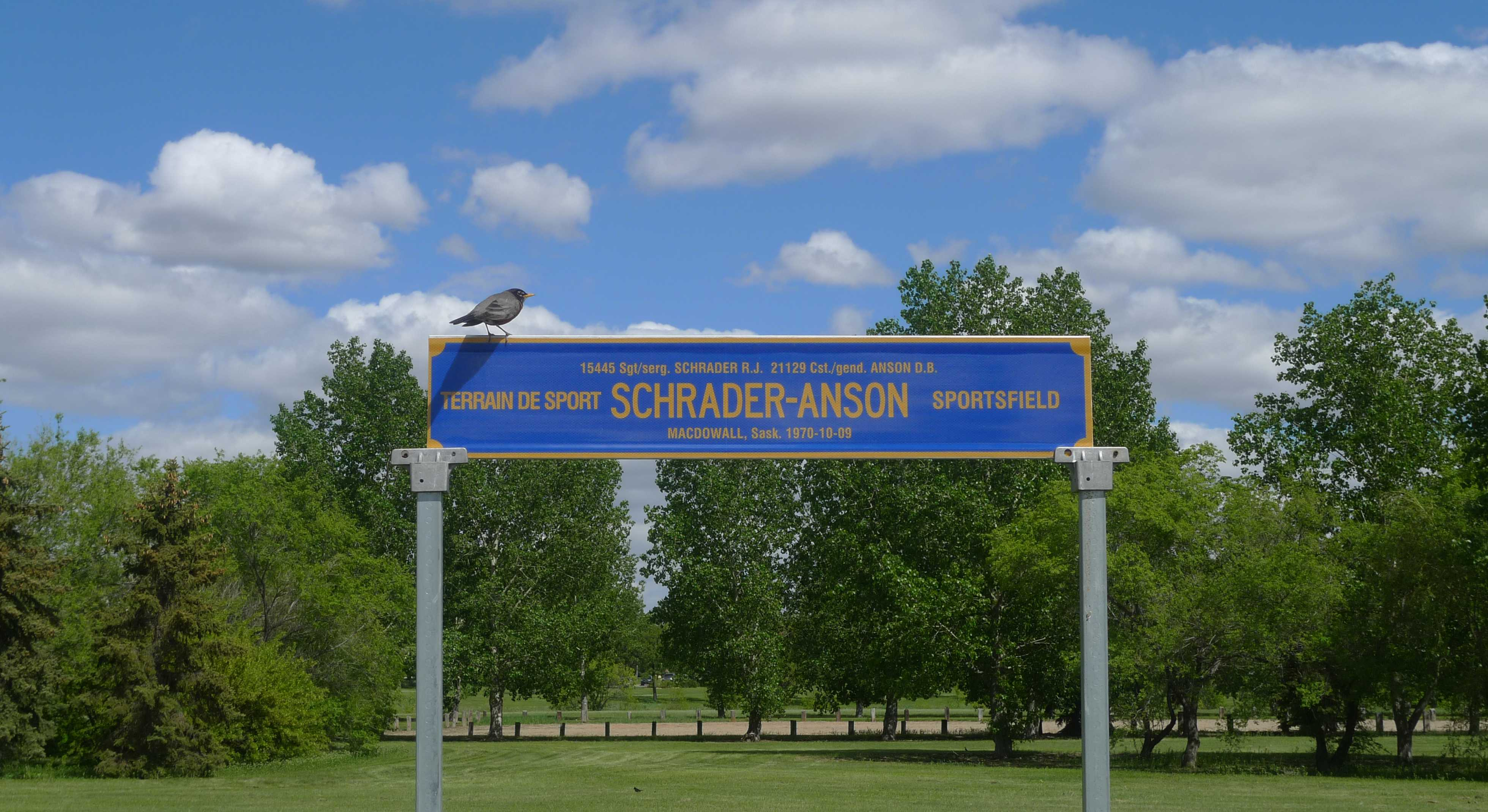 Schrader-Anson Sports Field at Depot– © Her Majesty the Queen in Right of Canada as represented by the Royal Canadian Mounted Police