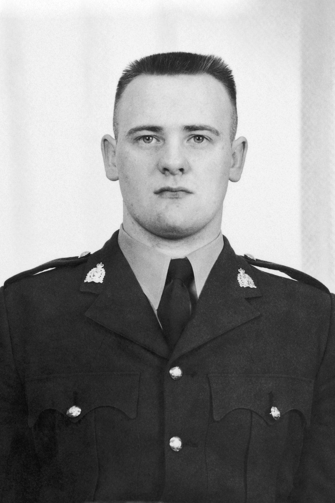 Gendarme Neil McArthur Bruce