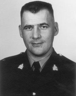 Corporal Ervin Jack Giesbrecht
