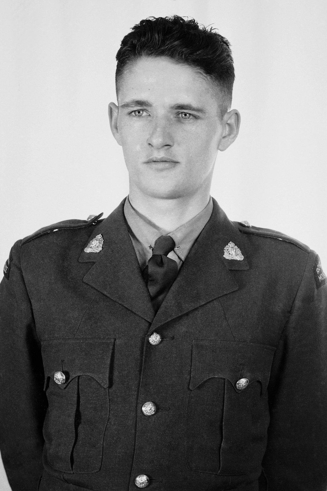 Gendarme Elwood Joseph Keck