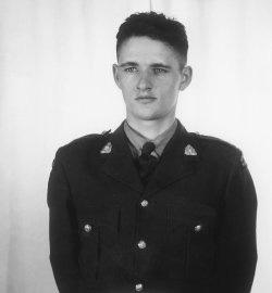Gendarme Elwood Joseph Keck – © Sa Majesté la Reine du chef du Canada représentée par la Gendarmerie royale du Canada