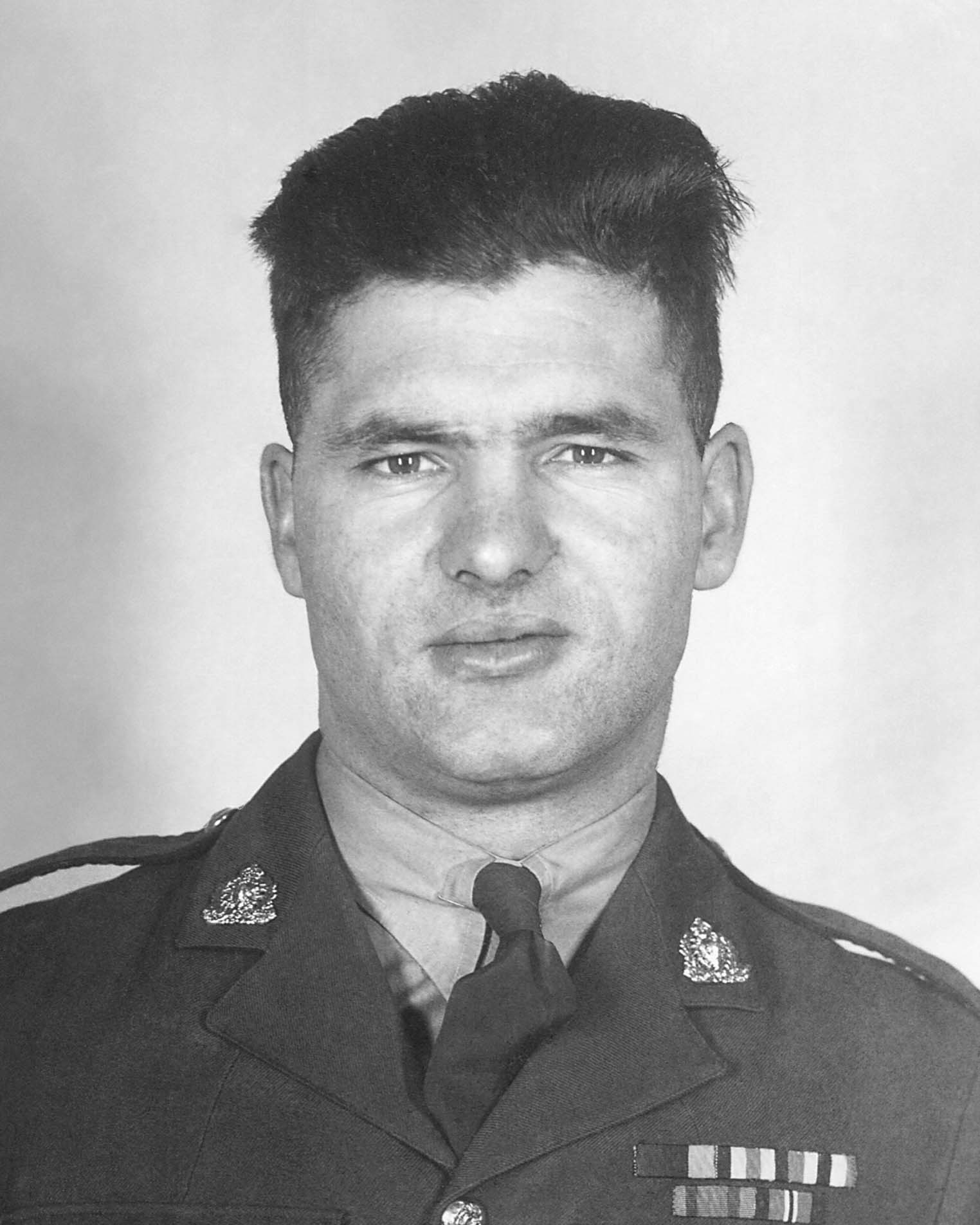 Gendarme Roy Eldon Laird – © Sa Majesté la Reine du chef du Canada représentée par la Gendarmerie royale du Canada