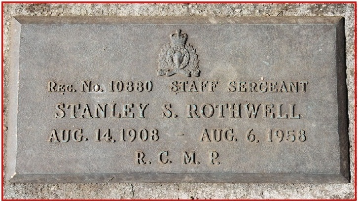 Inscription on grave marker