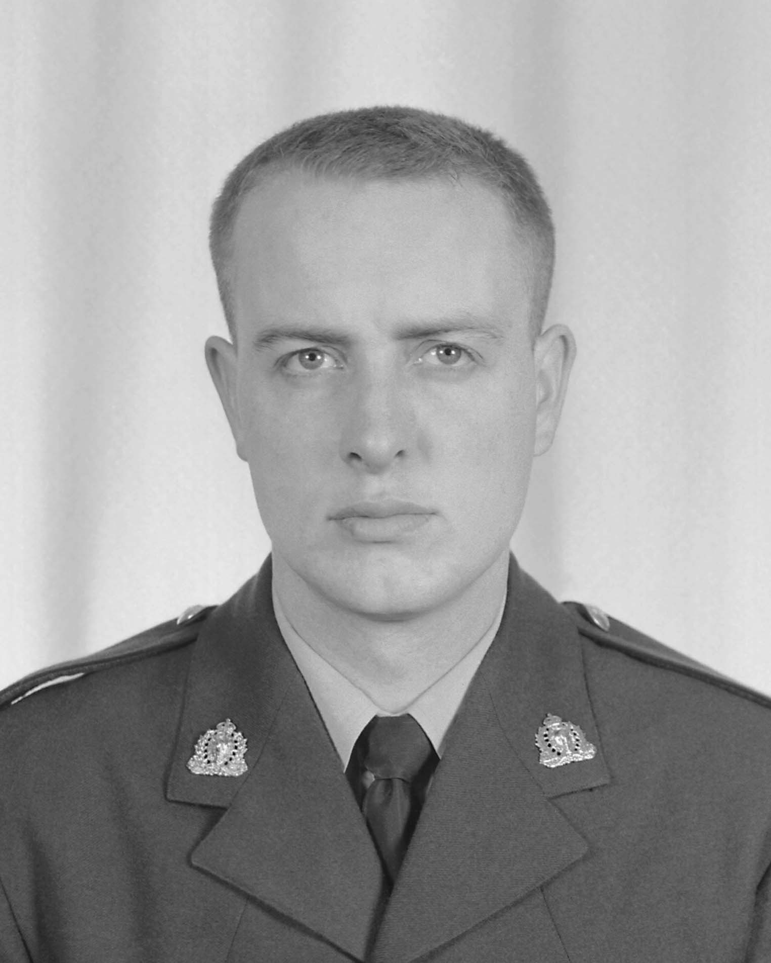 Second Class Constable Glen Frederick Farough– © Her Majesty the Queen in Right of Canada as represented by the Royal Canadian Mounted Police