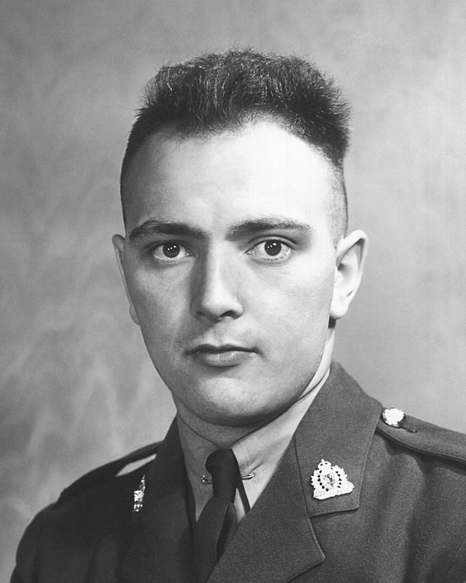 Gendarme Joseph Kasimir Sander – © Sa Majesté la Reine du chef du Canada représentée par la Gendarmerie royale du Canada