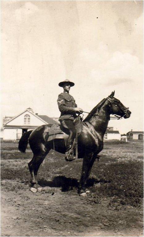 Sergent Arthur Julian Barker