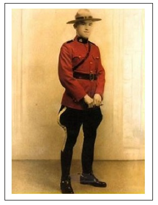 Constable Willis Edward Rhodeniser– Photo courtesy of www.rcmpgraves.com