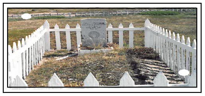 Grave marker– Photo courtesy of www.rcmpgraves.com