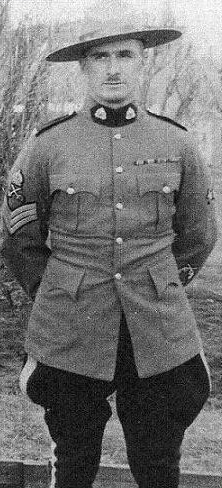 Sergeant Thomas Sellar Wallace– © Her Majesty the Queen in Right of Canada as represented by the Royal Canadian Mounted Police