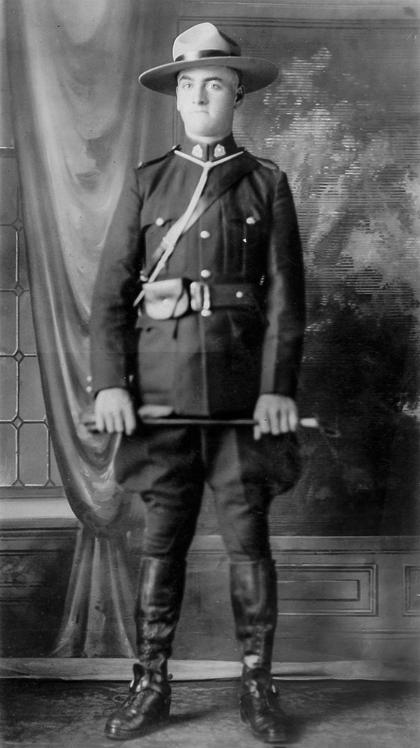 Constable Frederick Rhodes– © Her Majesty the Queen in Right of Canada as represented by the Royal Canadian Mounted Police